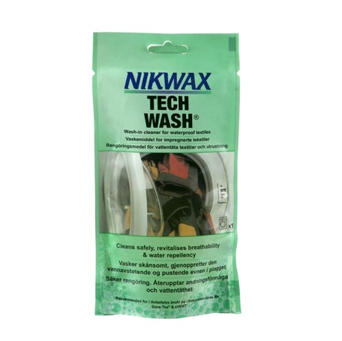 Nikwax Tech Wash 100ml Pouch Proofing - Neutral