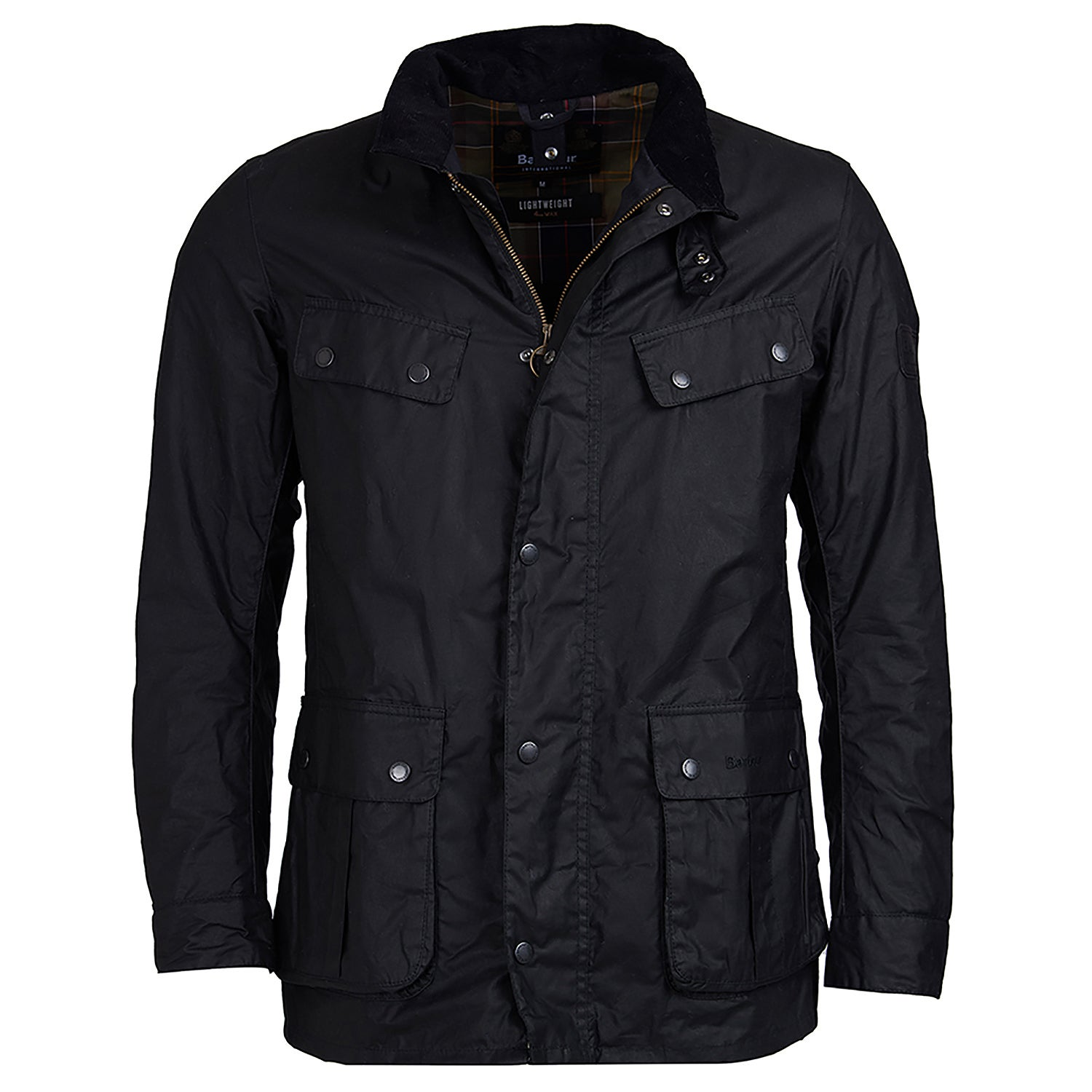 b5db6e5c61bc3 Barbour International Lightweight Duke Wax Jacket available from ...