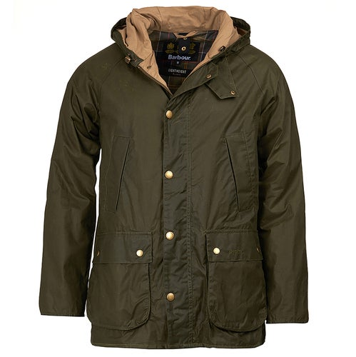 Barbour L/w Hood Bedal Archive Jacket - Archive Olive
