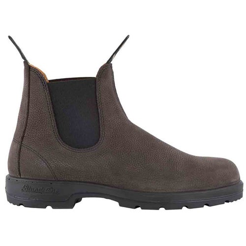 Blundstone Comfort Series Grain Leather Chelsea Boots - Grey Pebble