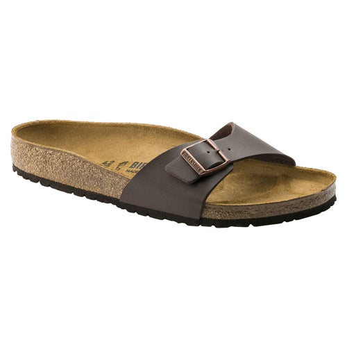 Birkenstock Madrid Birko Flor Sandals - Dark Brown