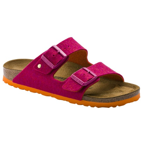 Birkenstock Arizona WZ Sandals - Double Face Fuchsia