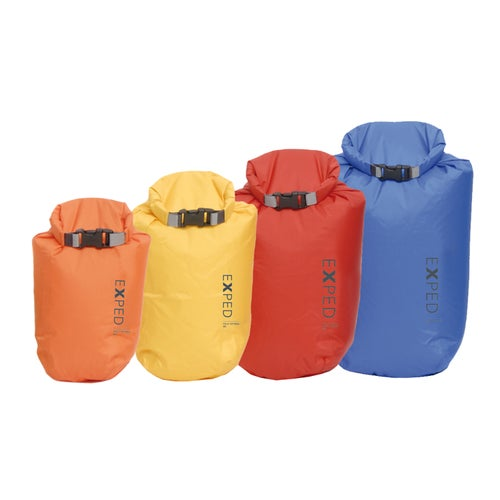 Exped 2017 Fold Dry 4 Pack Bright Drybag - Assorted