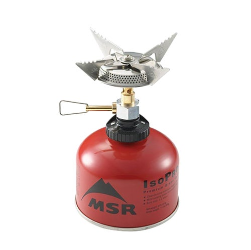 MSR Superfly Autostart Cook System - Silver Red