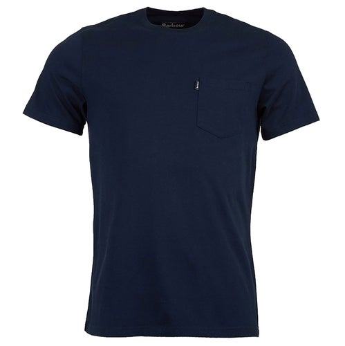 Barbour Essential Pocket T Shirt - Navy