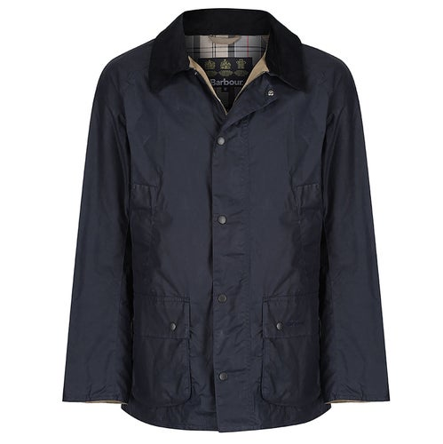 Barbour Lightweight 4oz Ashby Wax Jacket - Royal Navy