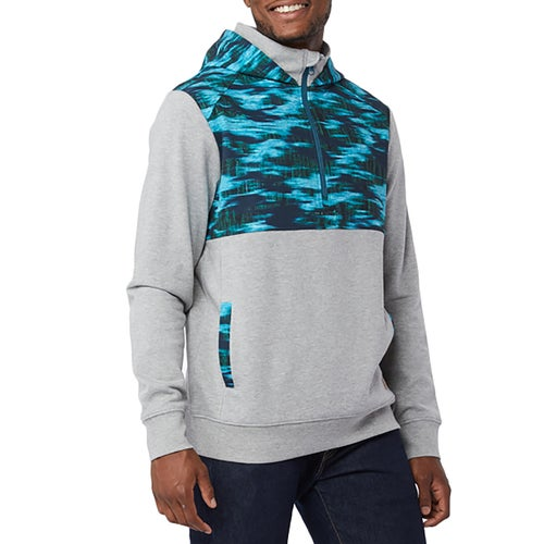 Tentree Calloway Half Hoody - Lunar Rock