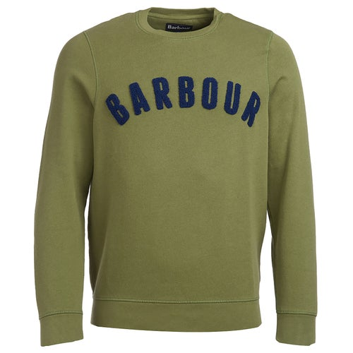 Barbour Prep Logo Crew Sweater