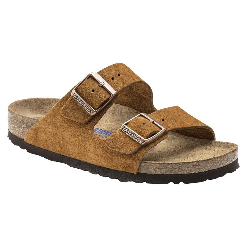 Sandalias Birkenstock Arizona Oiled Leather Soft Footbed Narrow