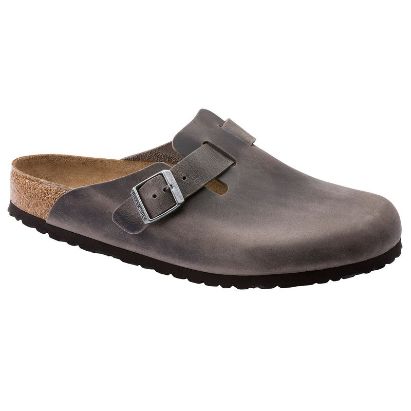 Sapatos de Dormir Birkenstock Oiled Leather Soft Footbed