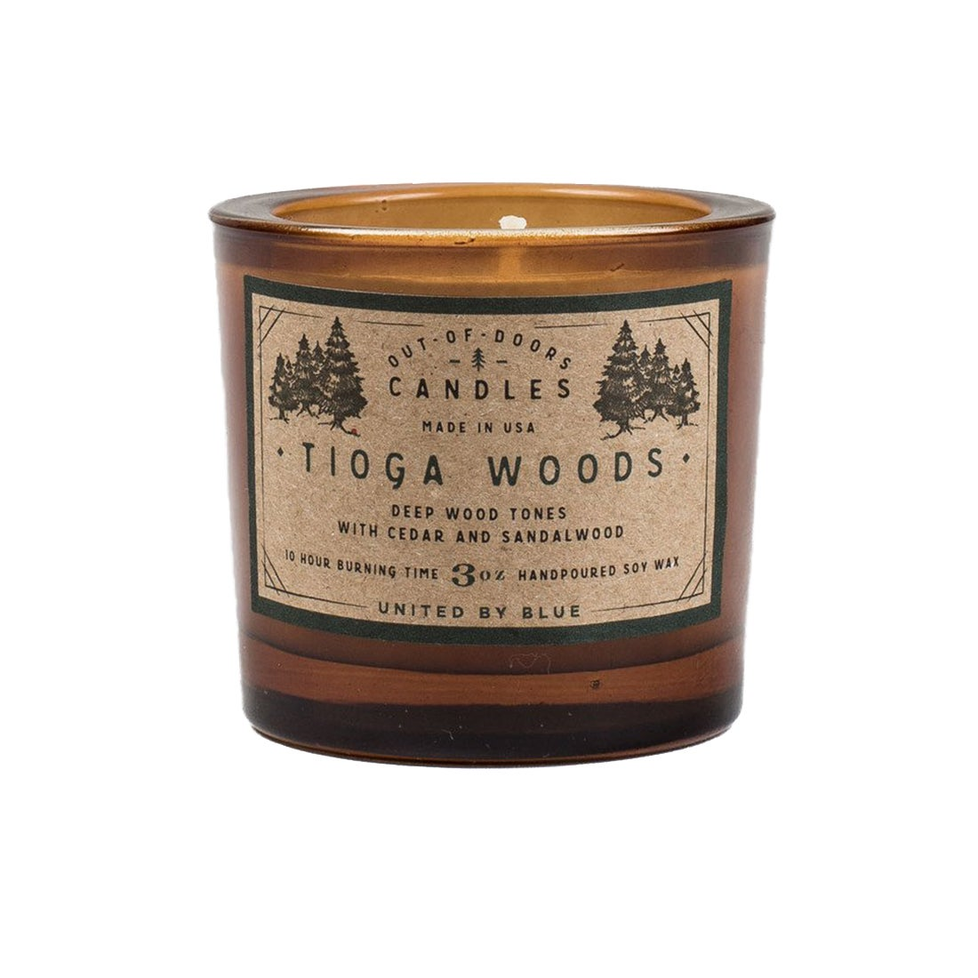 United by Blue Out Of Doors Tioga Woods Candle