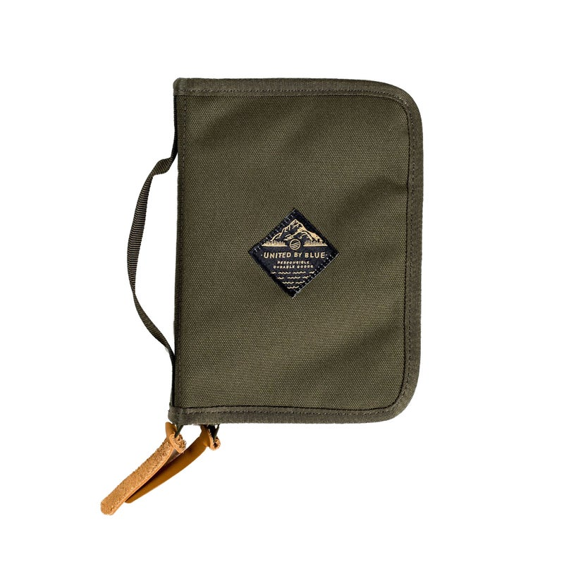 United by Blue Peaks Zip Passport Wallet