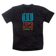 Topo Designs Original Logo T Shirt