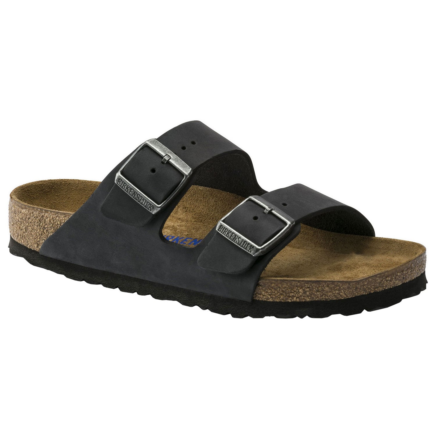 Birkenstock Arizona Oiled Leather Soft Footbed Sandály
