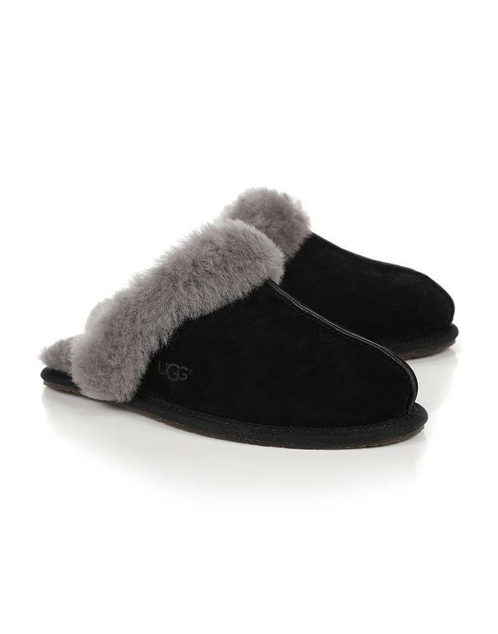 f7e53d5cba4 UGG Scuffette II Women's Slippers - Black/Grey | Country Attire