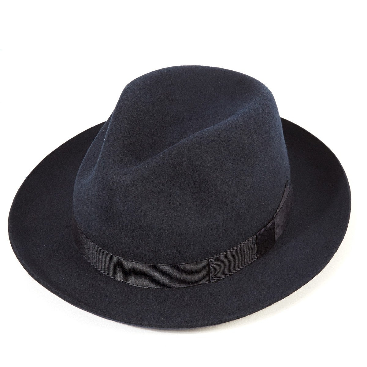 e0651c5e7399ca Christys Hats Chepstow Wool Felt Trilby Men's Hat - Navy | Country ...