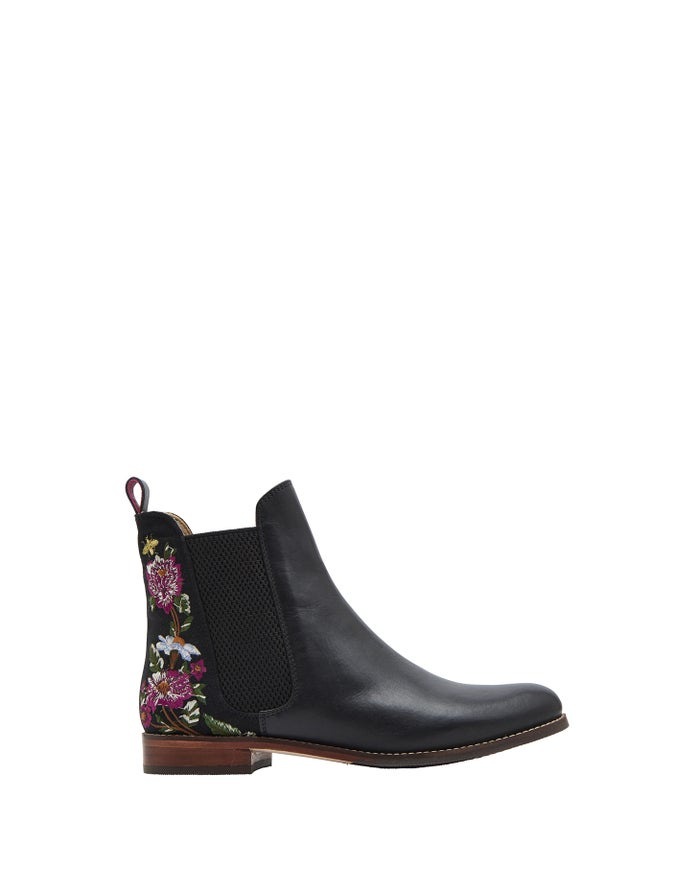 Joules Westbourne Embroidered Chelsea Women's Boots