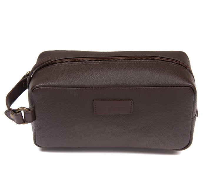 Barbour Compact Leather Herre Vasketaske