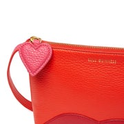 Lulu Guinness Marie Hearts and Lips Cross Body Damen Handtasche
