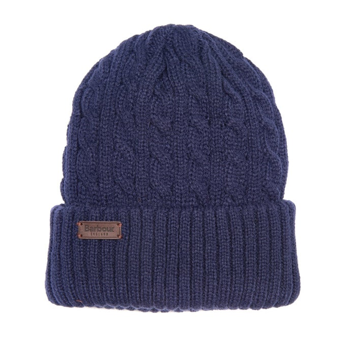 a17a0433 Barbour Balfron Knit Men's Beanie - Navy | Country Attire