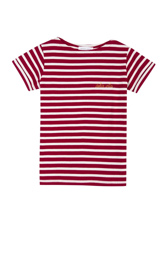 Maison Labiche Dolce Vita Sailor Women's Short Sleeve T-Shirt