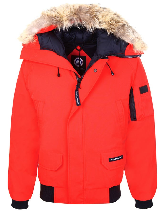baf4eff8ac1 Canada Goose Chilliwack Bomber Men's Jacket - Red | Country Attire