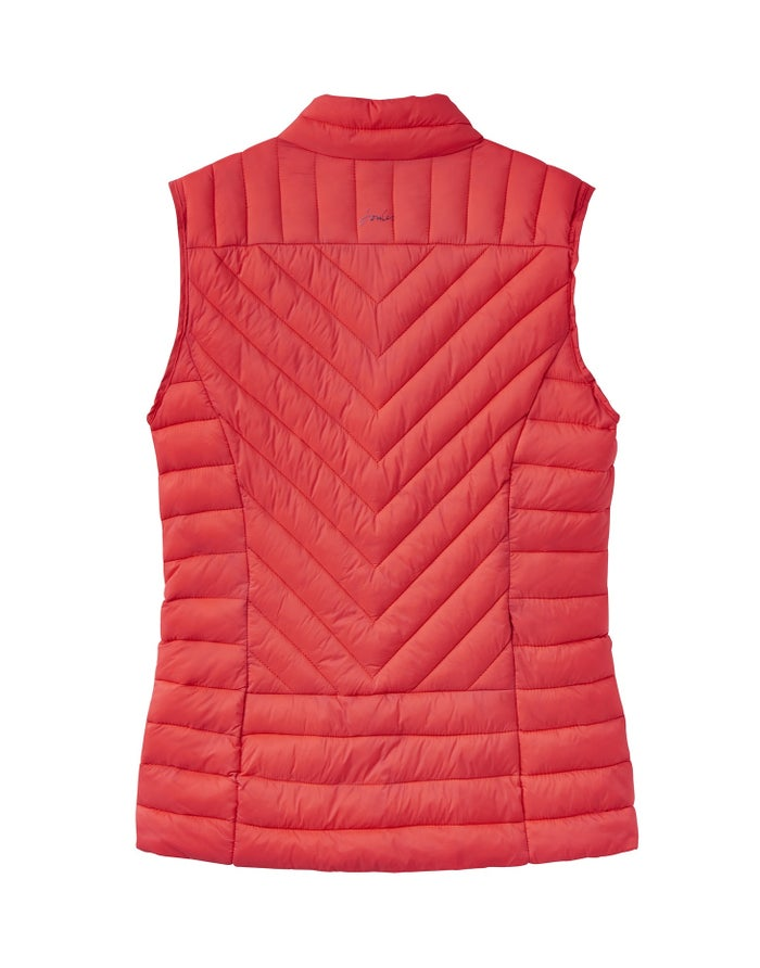 Joules Brindley Chevron Quilted Damen Thermoweste