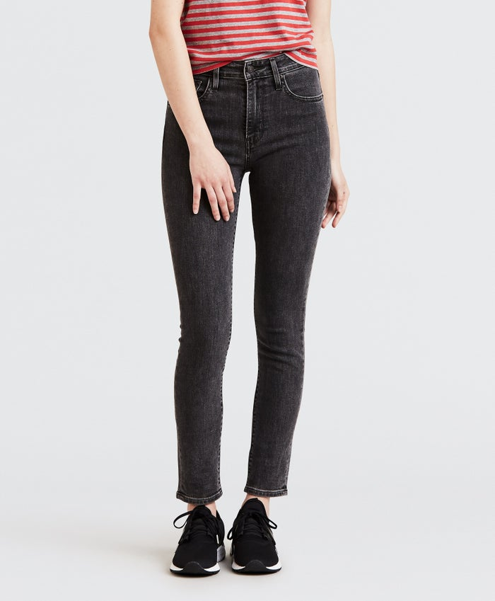 Levis 721 High Rise Skinny Dame Jeans