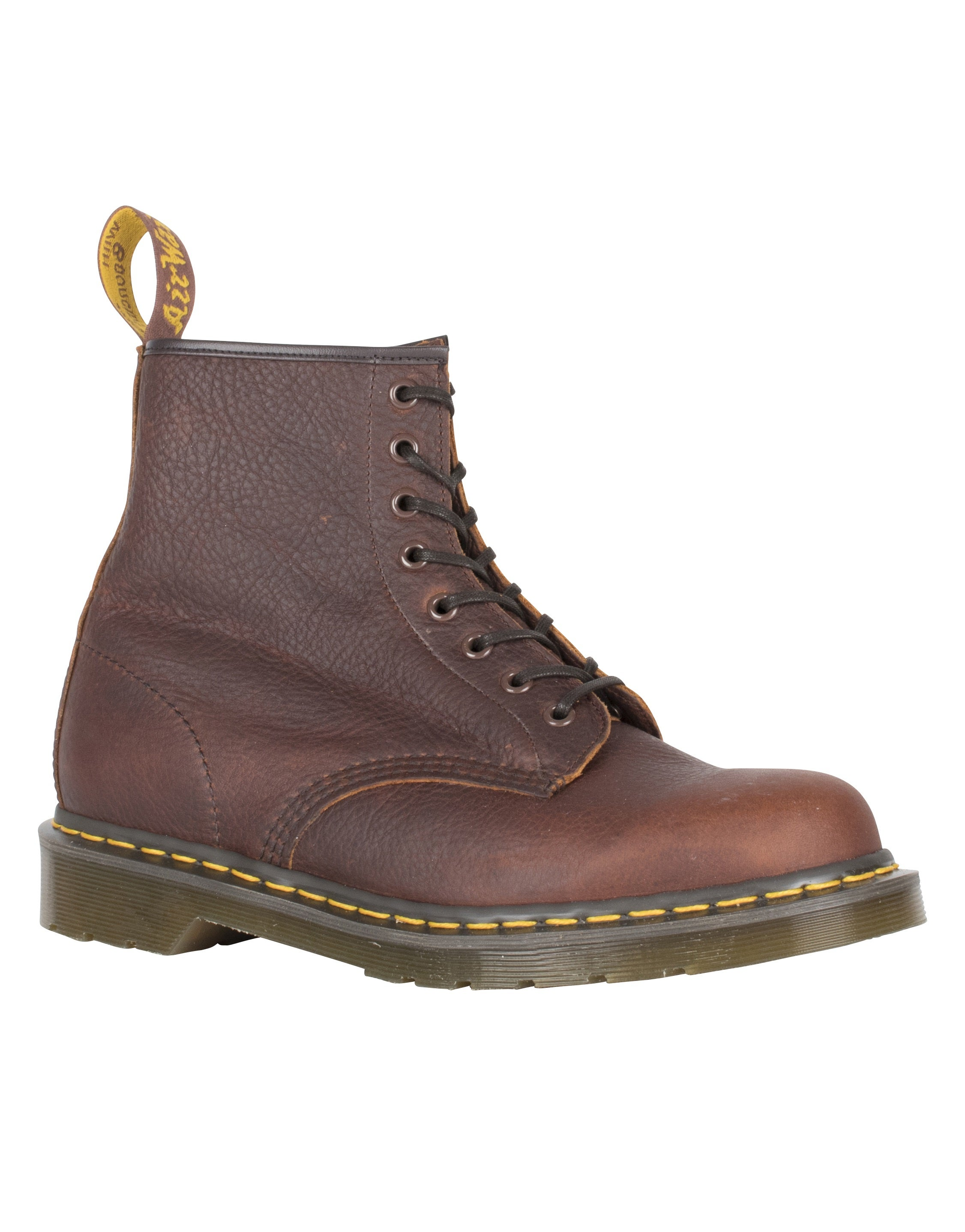 373a51bc21db3 Dr Martens 1460 Aztec Crazy Horse Boots - Dark Brown | Country Attire