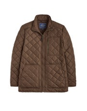 Joules Derwent Long Length Quilted , Jacka Mäns