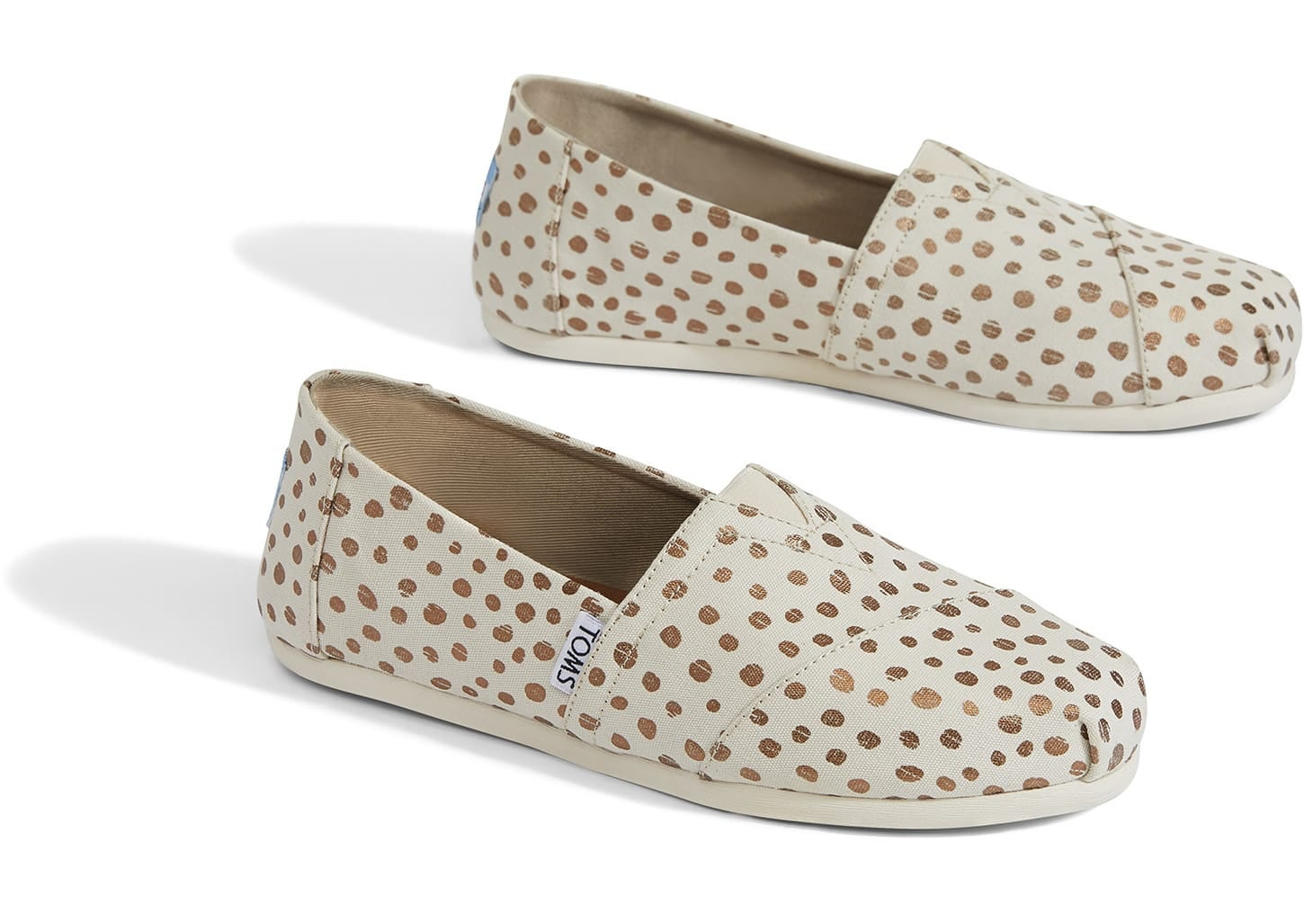Toms Alpargata Dots Women's Slip On Shoes