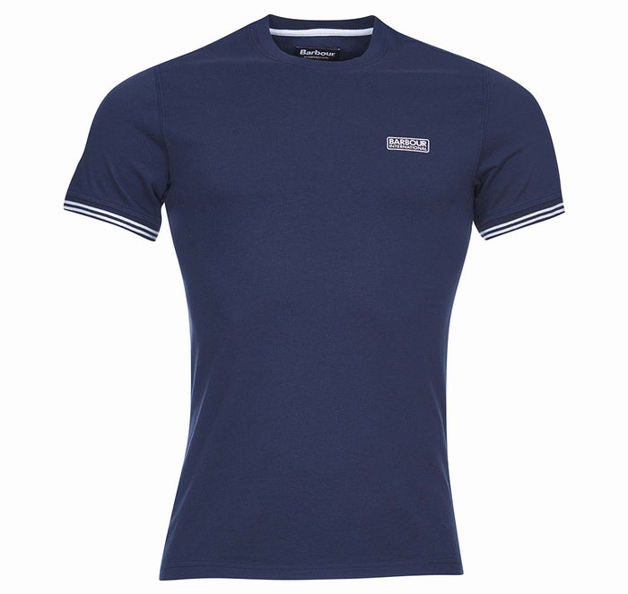 T-Shirt a Manica Corta Barbour International Cable Tipped