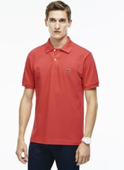 89e8a26d16f Lacoste L1212 Basic Pique Men's Polo Shirt - Sirop Pink | Country Attire