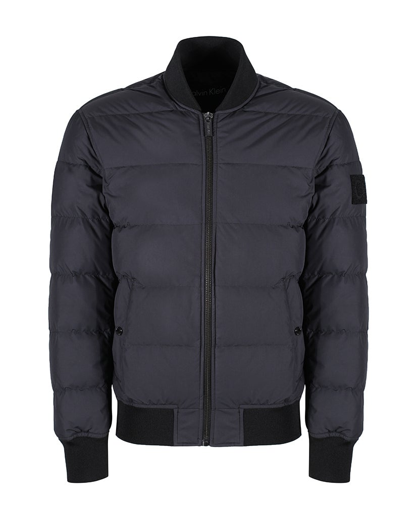 fb85b23f0 Calvin Klein Oddy Padded Bomber Men's Jacket - Perfect Black | Country  Attire