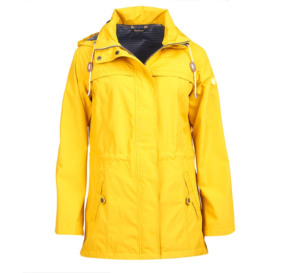 9ca0d407a7a8b Barbour Hanover Hooded Women's Jacket - Canary Yellow LWB0449YE51 ...