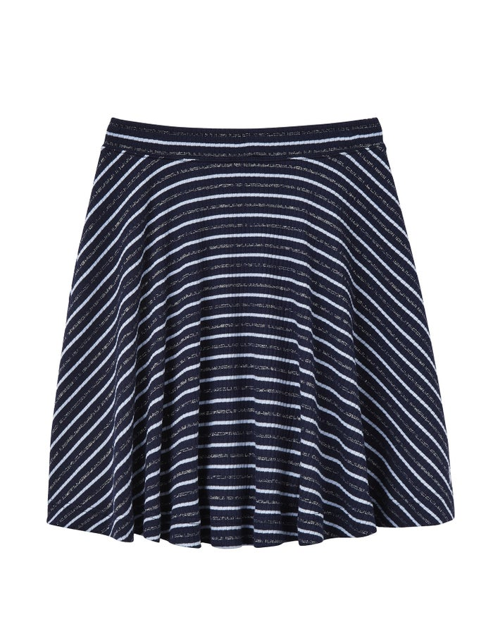 9680ca9a Joules Izzie Jersey Skater Spódnica - French Navy Stripe | Country ...