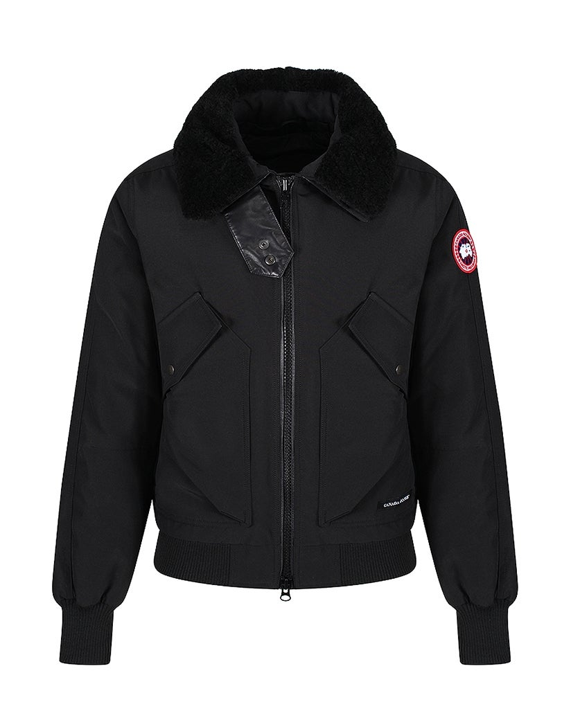 canada goose bromley slim fit bomberwith removable. Black Bedroom Furniture Sets. Home Design Ideas