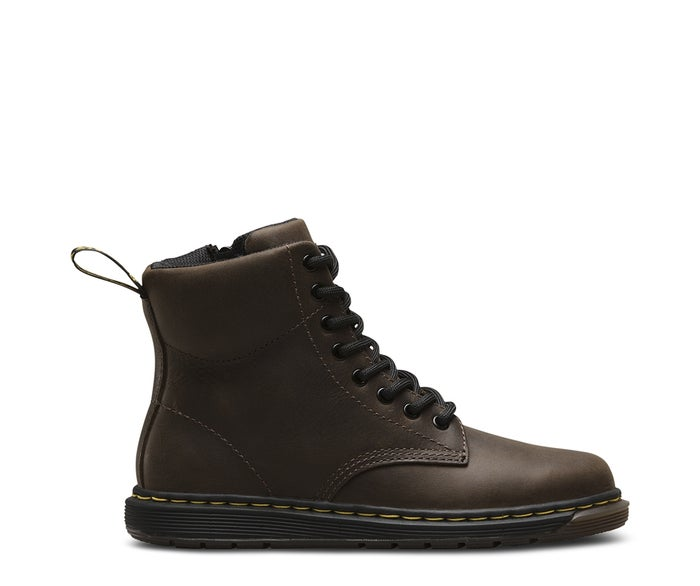 Dr Martens Malky 8 Eye Kid's Boots