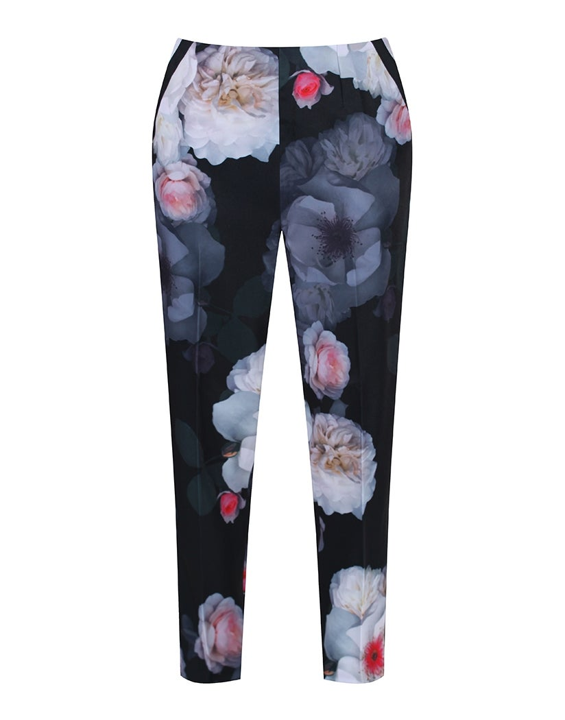 Ted Baker Indes Chelsea Flower Loose Kvinner Trousers