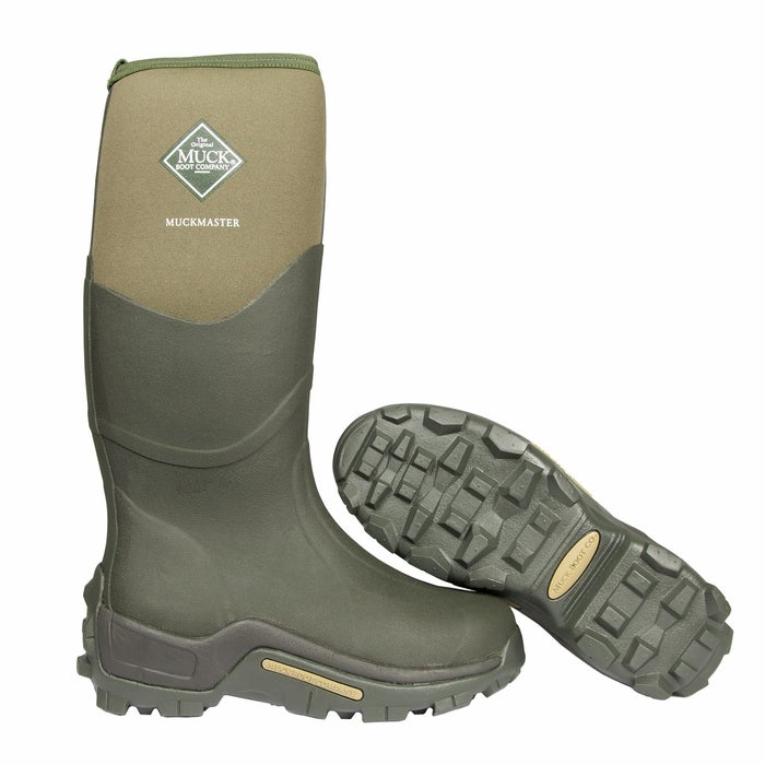 3b80cc20561 Muck Boots Muckmaster Men's Wellington Boots - Moss | Country Attire