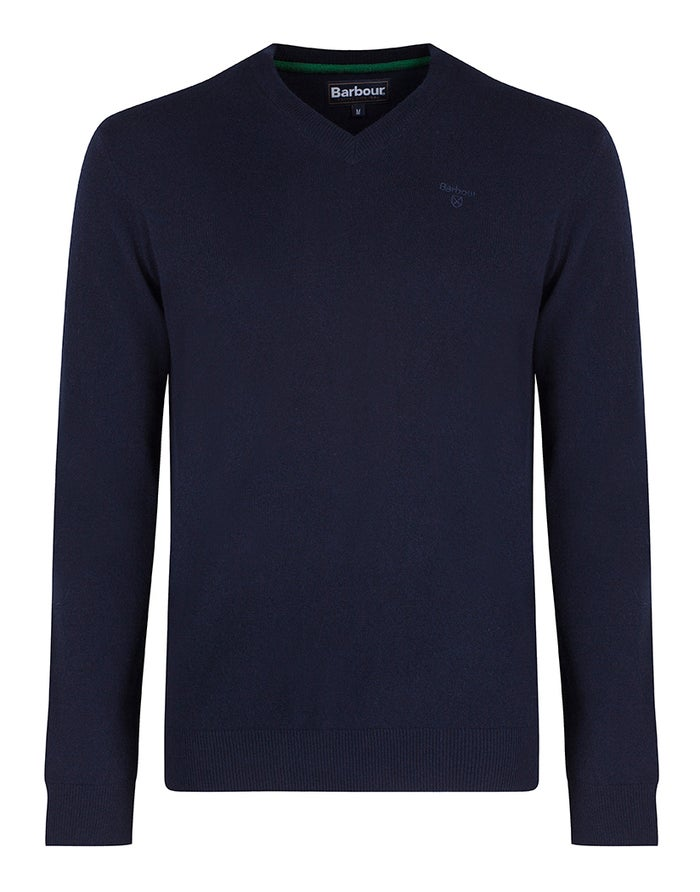 Barbour Essential Lambswool V Neck Men's Sweater