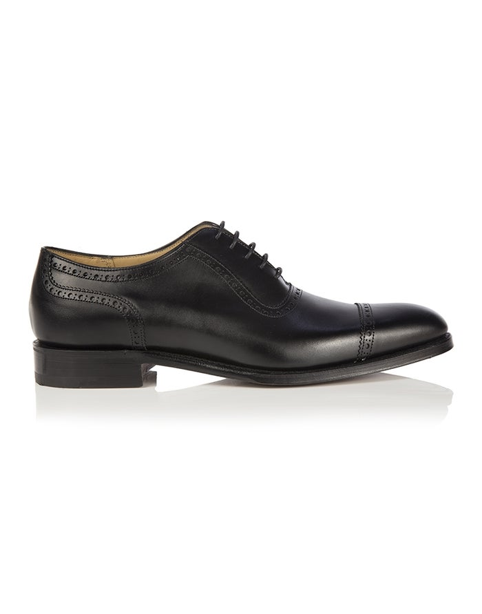 cf0ae88dced49 Cheaney Made in England Fenchurch Oxford Dress Shoes - Black ...