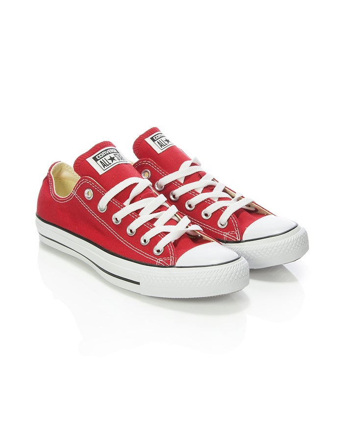 cec66d876b974 Converse Chuck Taylor All Stars OX Shoes - Red