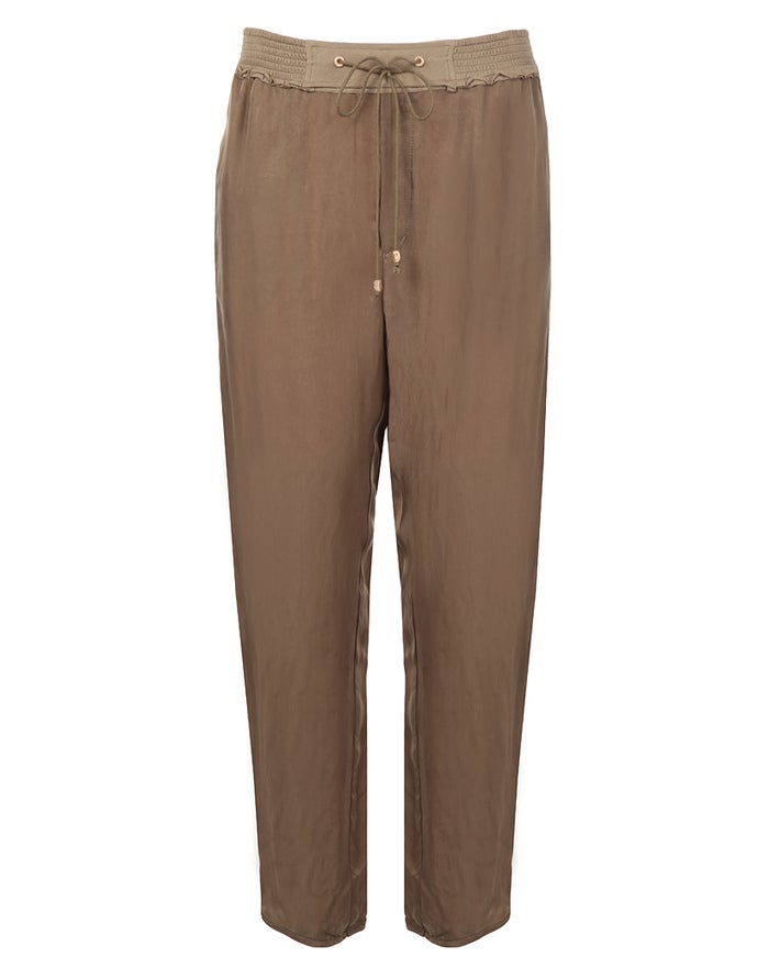 fe9c9a24 BOSS Orange Simiss2 Women's Trousers - Dark Beige | Country Attire