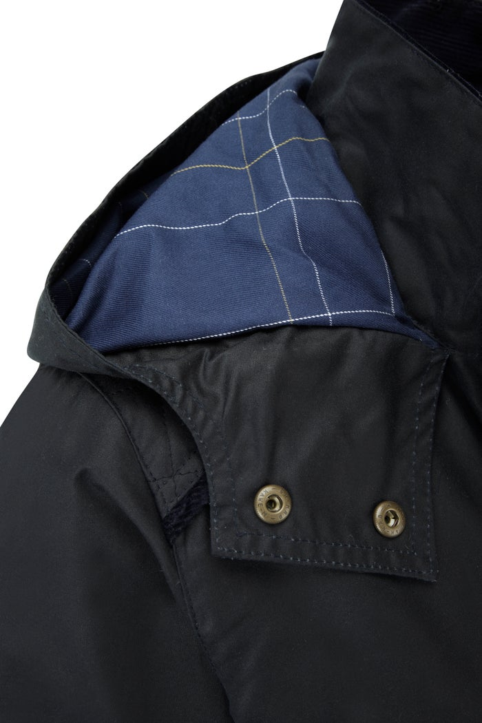 Country Attire Marlow Quilt Stitched Wax Jacket