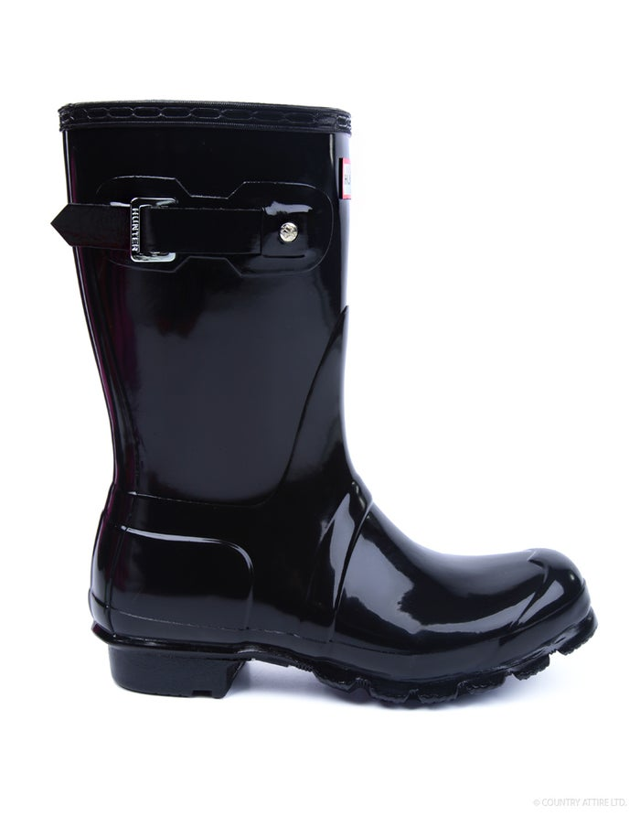 Hunter Original Short Gloss Women's Wellington Boots