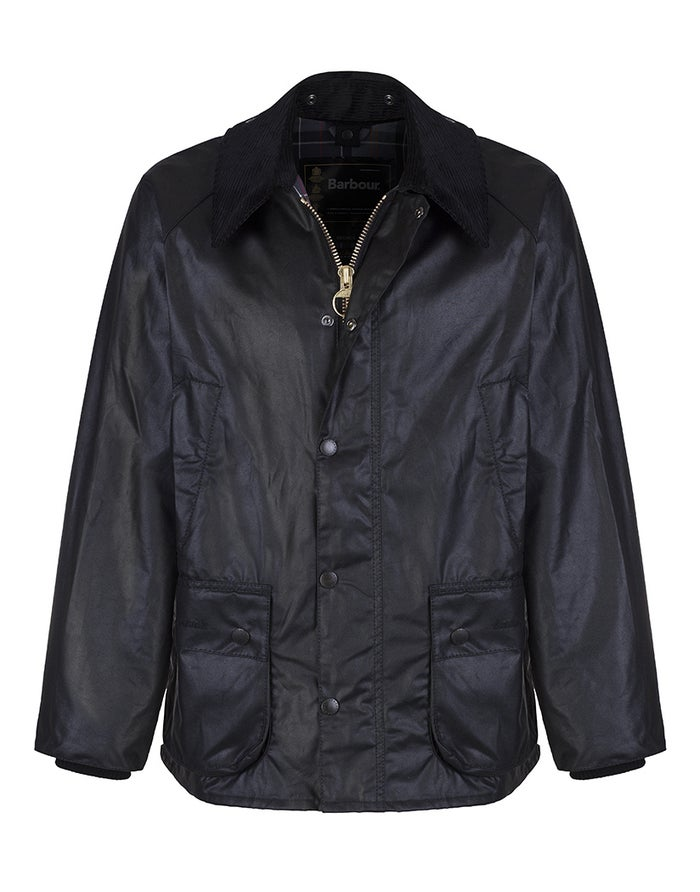 6ed84c413bf59 Barbour Bedale Wax Jacket - Black | Country Attire