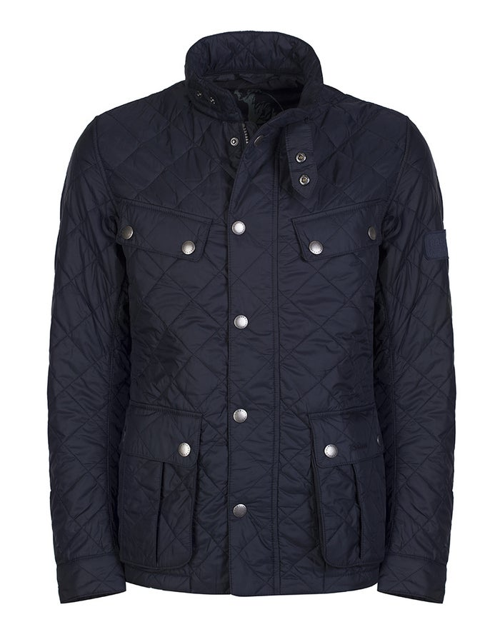 6ed4d8903 Barbour International Ariel Quilted Men's Jacket - Navy | Country Attire