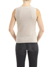 CO/AT Made in Scotland by HawicoKaisha Sleeveless Cashmere Damen Top