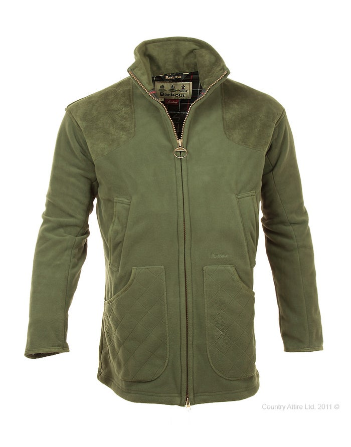 65028824a7de1 Barbour Dunmoor Fleece Men's Shooting Jacket - Olive | Country Attire